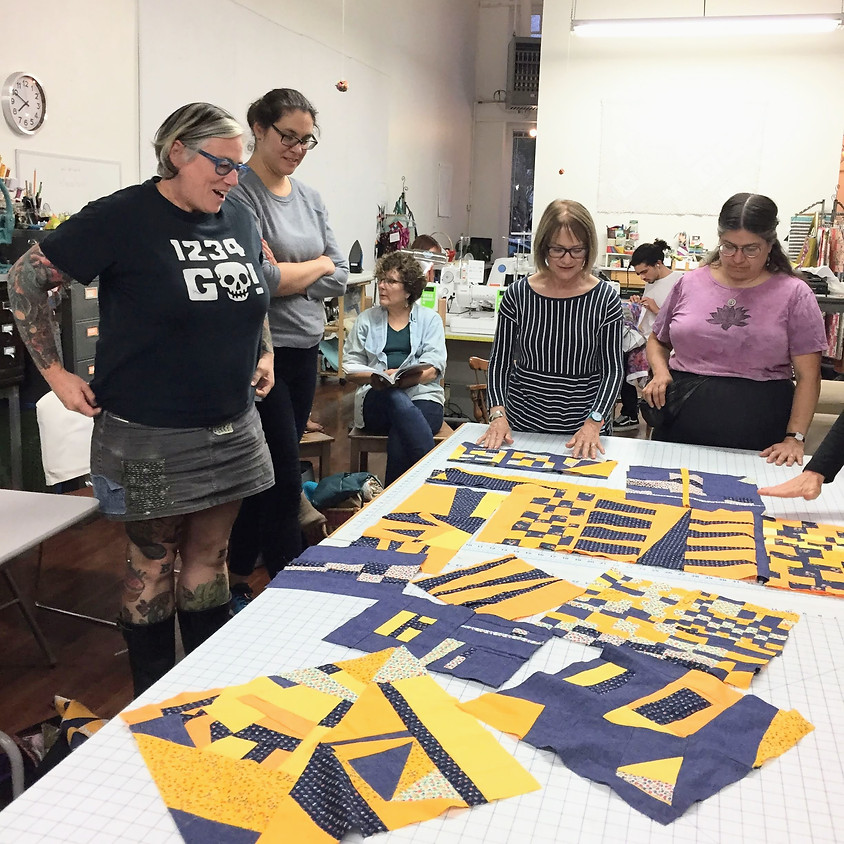 ONLINE: East Bay Modern Quilters Meet-up: April