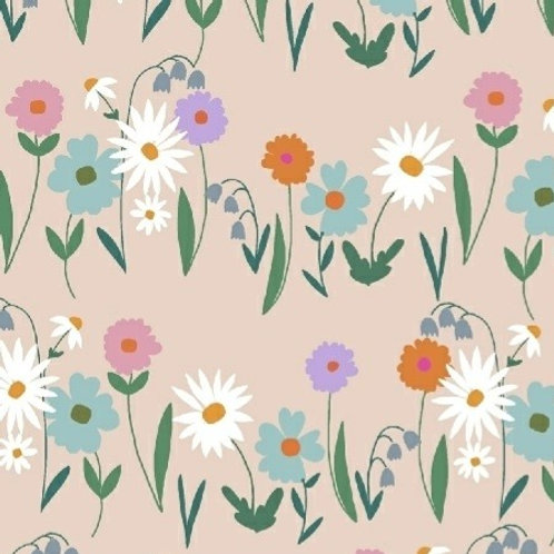 Daisy Chain Fabric by Annabel Wrigley