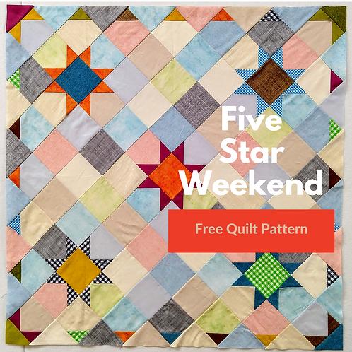 Five Star Weekend Quilt