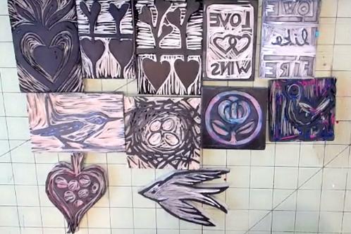 Stamp + Stitch Kit & Video