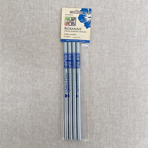 Roxanne's Chalk Marking Pencils - Silver