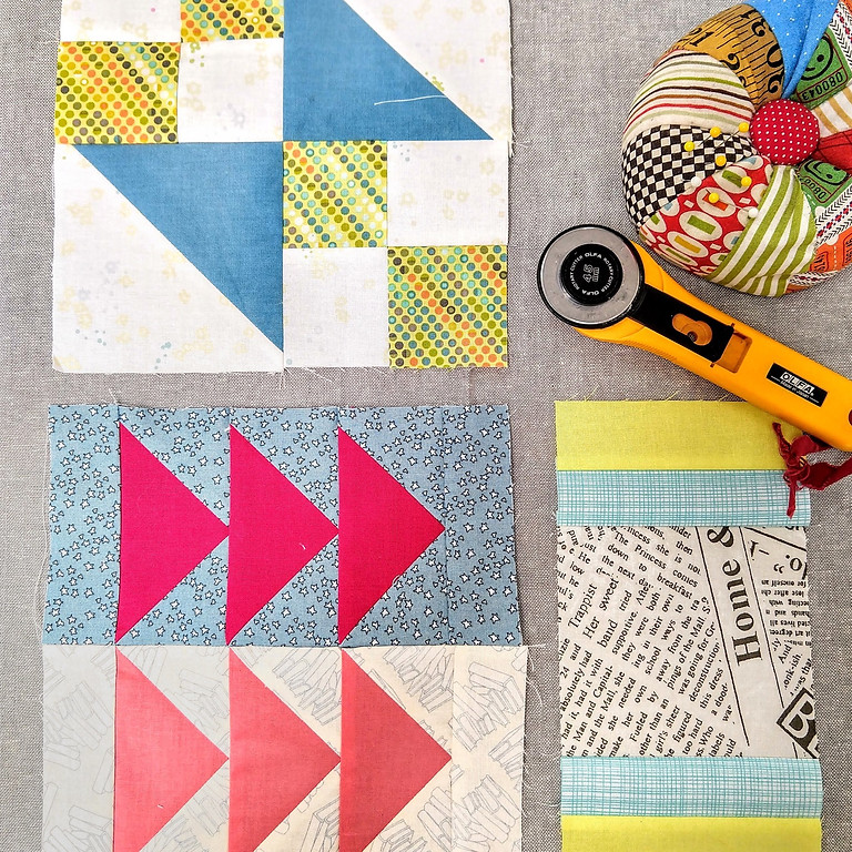 Quilting Skill Builder:#100days100blocks with Hello Stitch (September/October Session)