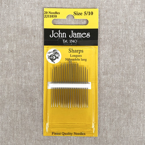 John James Needles - Sharps Size 5/10