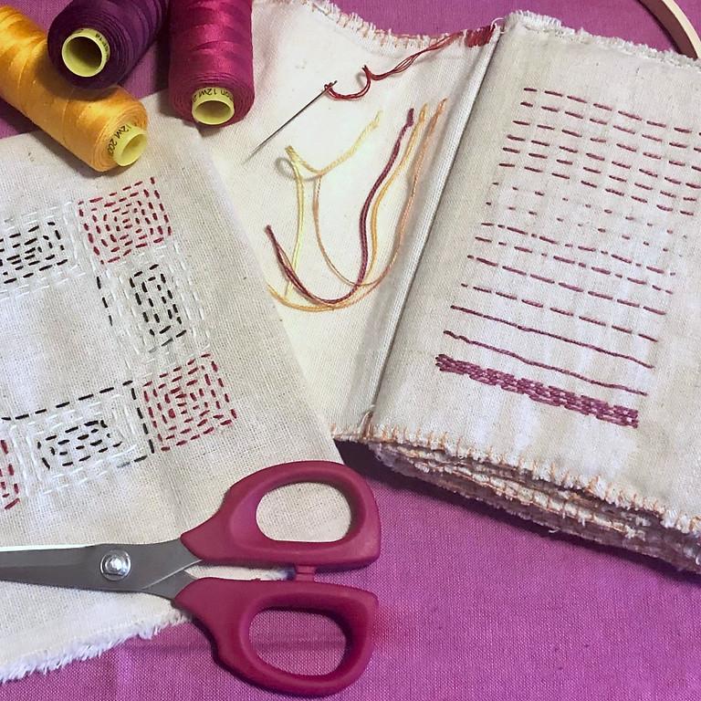 ONLINE: Slow Stitch Journal with Pati Fried