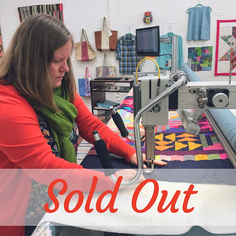 Learn How To Longarm Quilt - Innova Certification Class, March 11 & 12, 6-8pm
