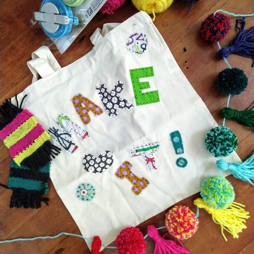 ONLINE: Camp Stitch Basketmaking Bonanza | June 7-11