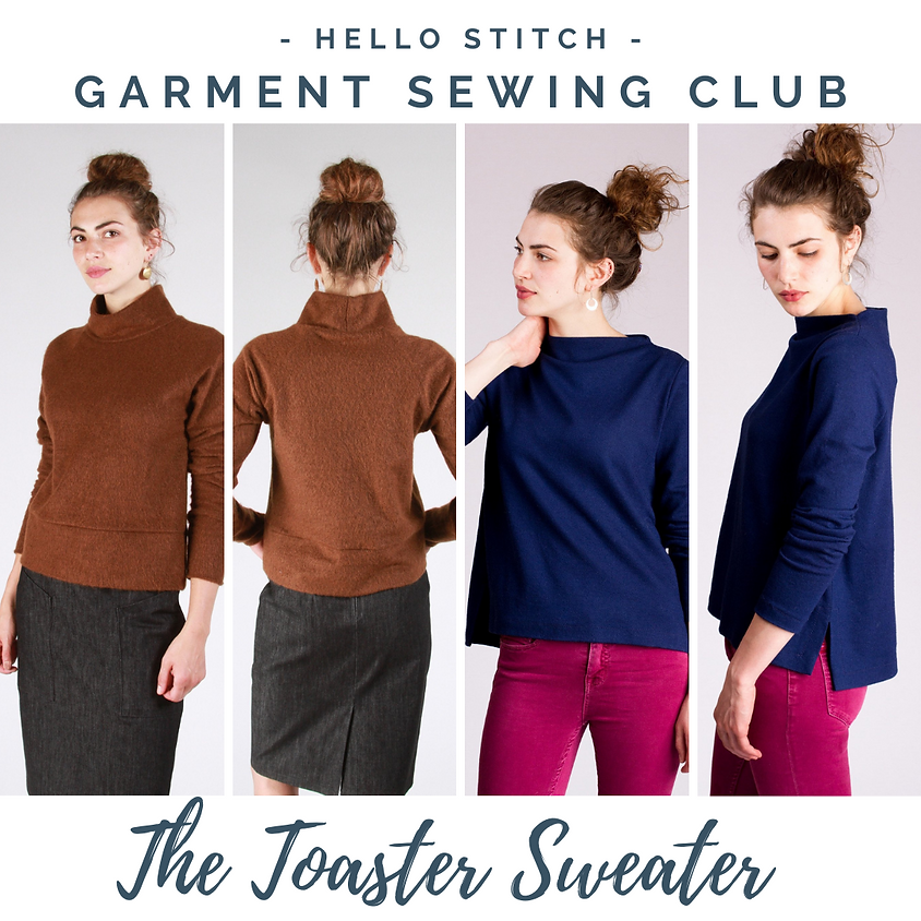 ONLINE: Hello Stitch Garment Sewing Club with Beth Galvin - December
