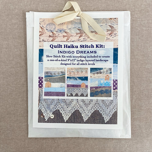Quilt Haiku Stitch Kit: Indigo Dreams