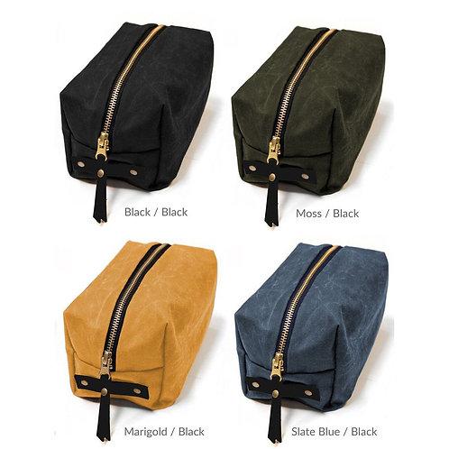 The Woodland Dopp Kit Bag Complete Kit