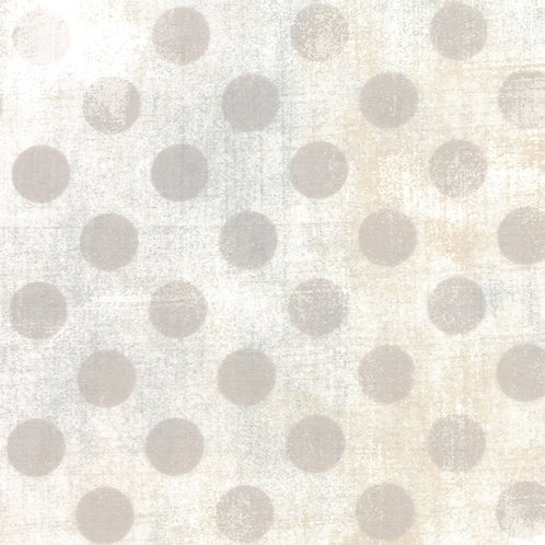 "108"" Wide Backing Fabric - White Couture Grunge Hits the Spot (sold by 1/2 yd)"
