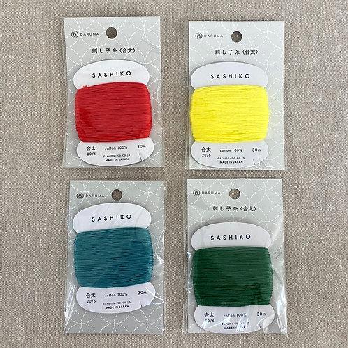 Daruma Carded Sashiko Thread - Primary Collection