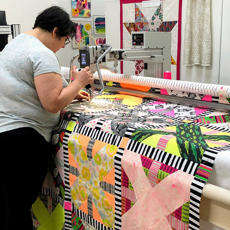 Learn How To Longarm Quilt - Innova Certification Class, July 8 & 9, 6 - 8pm