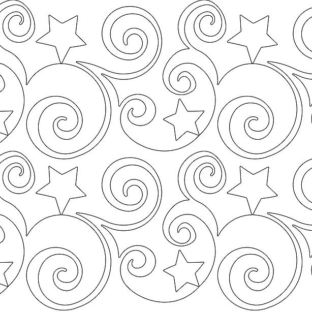 Starry Night: M, L, XL