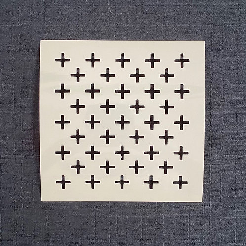Sashiko Stencil - Crosses