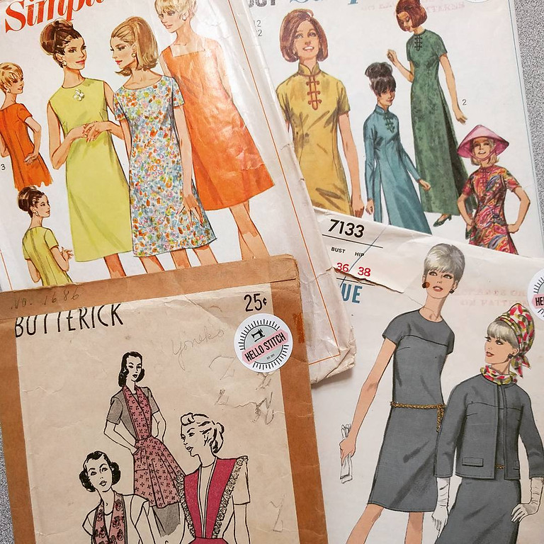 ONLINE: Everything You Need to Know About Sewing Patterns!