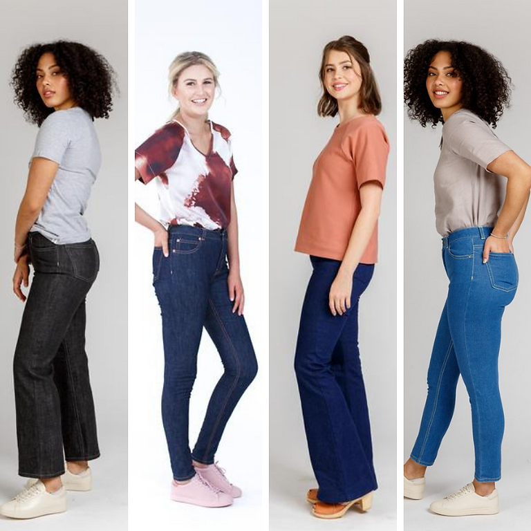 ONLINE: Sew the Perfect Jeans with Beth Galvin - 4 Week Course