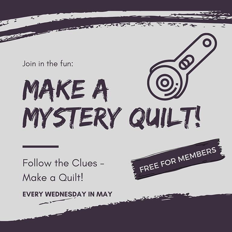 ONLINE: Make a Mystery Quilt!