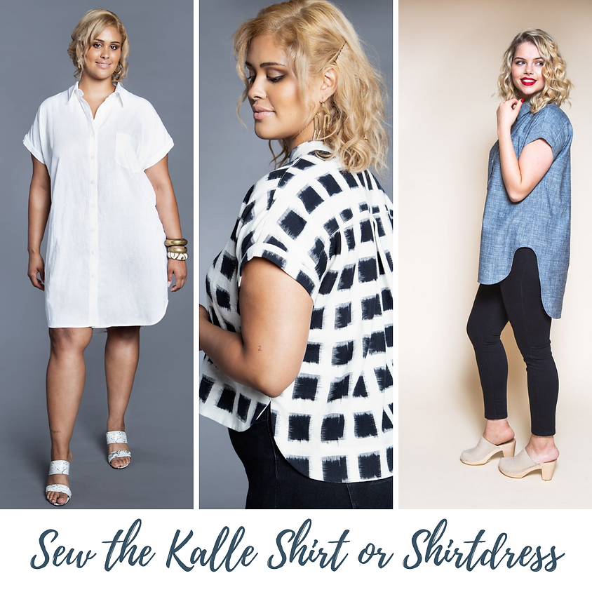 ONLINE: Sew a Tunic Shirt or Shirtdress with Beth Galvin
