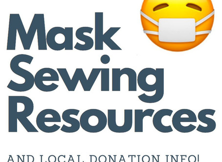 Mask Sewing Resources & Bay Area Donation Information