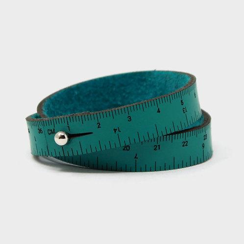 Wrist Ruler Bracelet - Teal