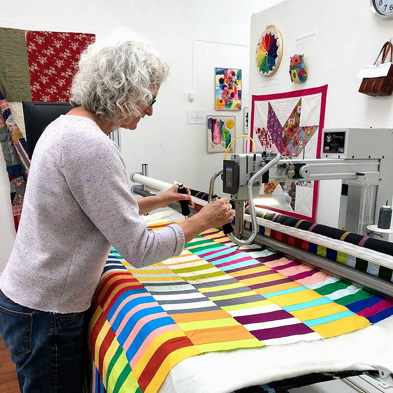 Learn How To Longarm Quilt - Innova Certification Class, August 19 & 20, 6 - 8pm