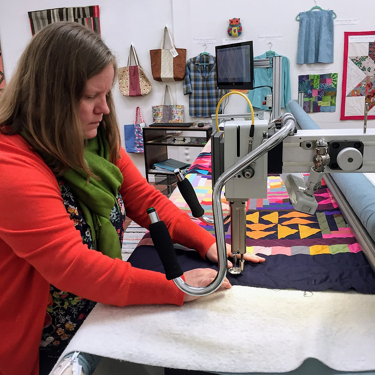Learn How To Longarm Quilt - Innova Certification Class, June 10 & 11, 6 - 8pm