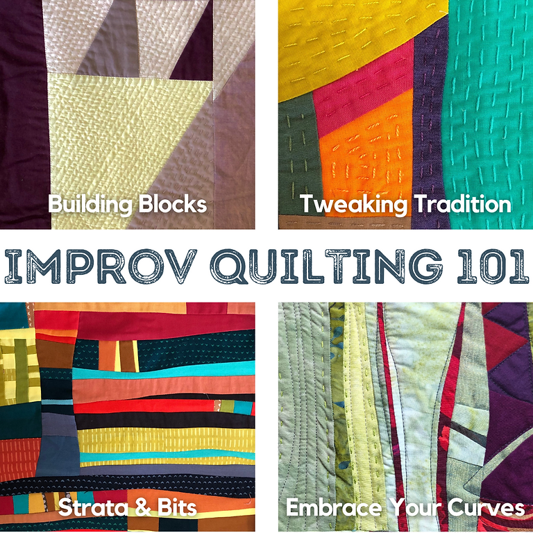 ONLINE: Improvisational Quilting 101 with Pati Fried