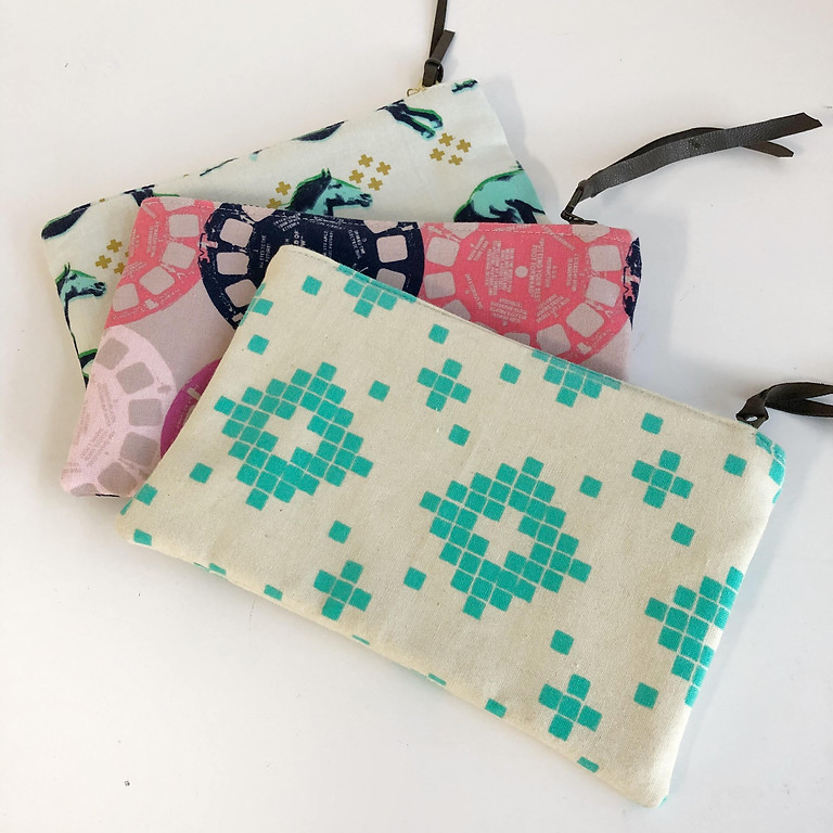 Learn to Sew 101: Zipper Pouch
