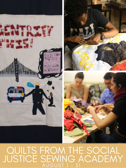 Quilts from Social Justice Sewing Academy