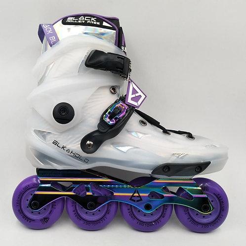 Black Skates White Holographic