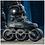 Thumbnail: Powerslide NEXT NAVY Megacruiser