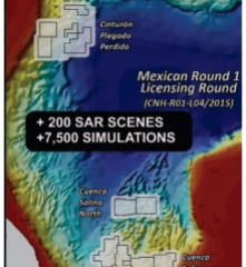 Mexican GoM Bid – Oil seep sources on the seafloor