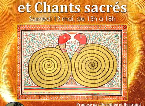 Réservation ouverte pour le prochain Atelier du 13 mai : Kundalini Yoga et chants sacrés (15h/18h) a
