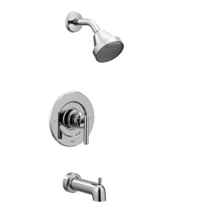 Gibson Single-Handle Posi-Temp Tub and Shower Faucet Trim Kit in Chrome