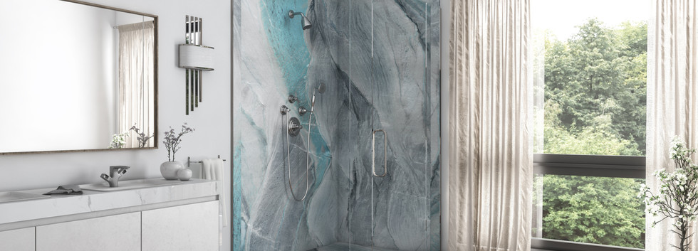 Triton Two-Panel Corner Shower