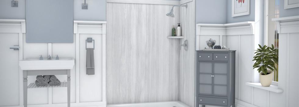 Veincut Gray Shower