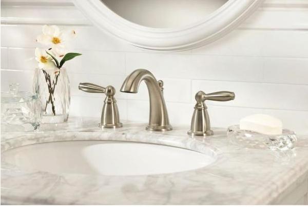 Brantford 8 in. Widespread 2-Handle High-Arc Bathroom Faucet Trim Kit in Oil Rubbed Bronze