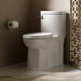 Boulevard 1-Piece 1.28/1.6 GPF Single Flush Elongated Toilet