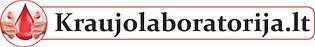 Kraujolaboratorija.lt logotipas (permato