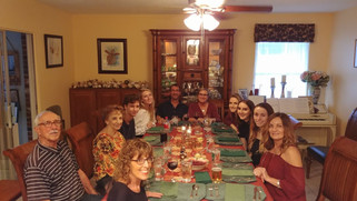 Thanksgiving and Family: The Tedescos