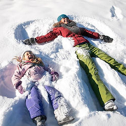 #snowangels #winterfun #mountainlife #na