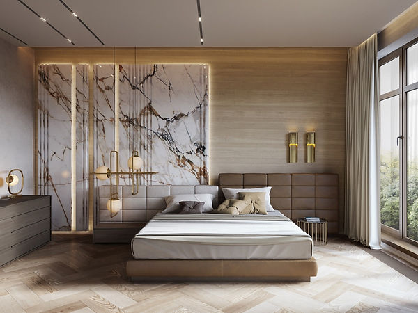 white-marble-and-wood-master-bedroom-lux