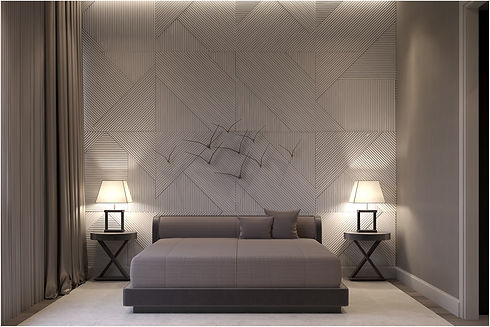luxury-grey-master-bedroom-with-textured-accent-wall-and-flock-of-bird-metal-wall-art.jpg