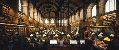 Bibliothèque Sainte-Geneviève #1