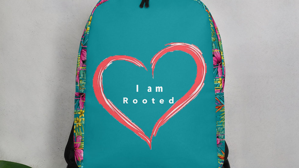 I am rooted in love Minimalist Backpack