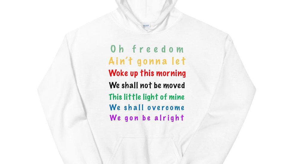 Freedom Song Unisex Hoodie