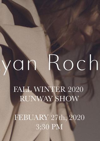 Ryan Roche FW 2020