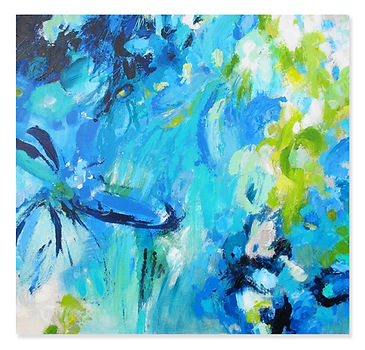 """Planting Blue"" by Janet Bothne"