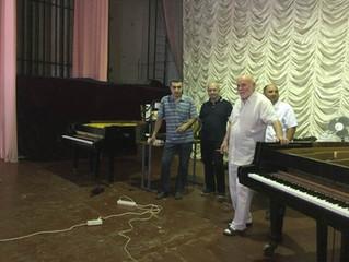 В Ростове-на-Дону начался семинар фортепьянных мастеров