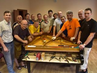 Фото семинара фортепианных мастеров в Брянске
